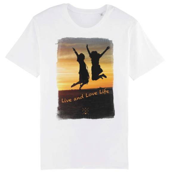 T-shirt homme Live and Love Life
