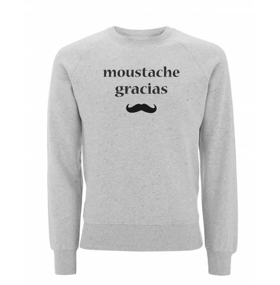 Sweat Moustache gracias