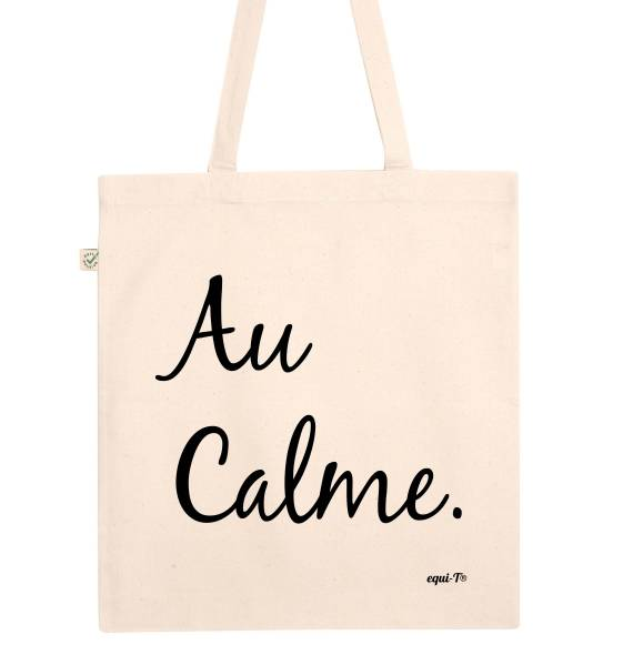 Tote Bag original - au calme