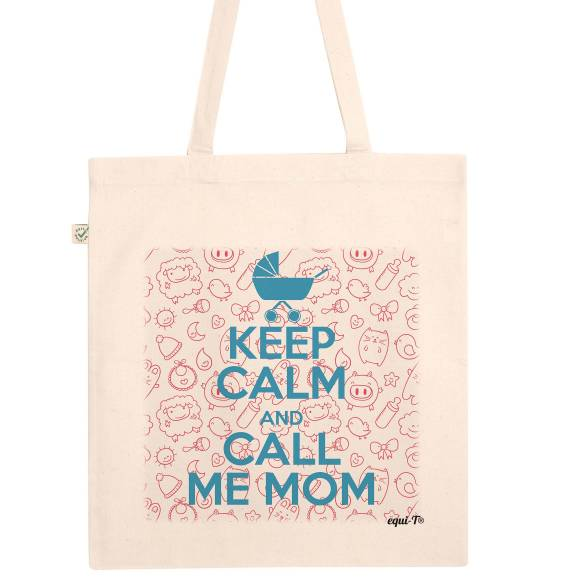Tote bag Keep calm & call me mom