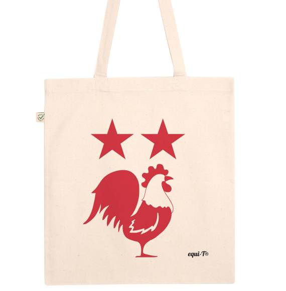 Totebag Coq Rouge