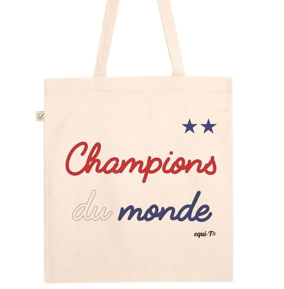 Totebag Champions du monde