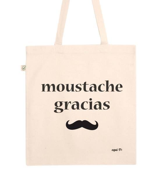 Totebag Moustache gracias