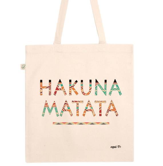 Totebag Hakuna Matata Colorful
