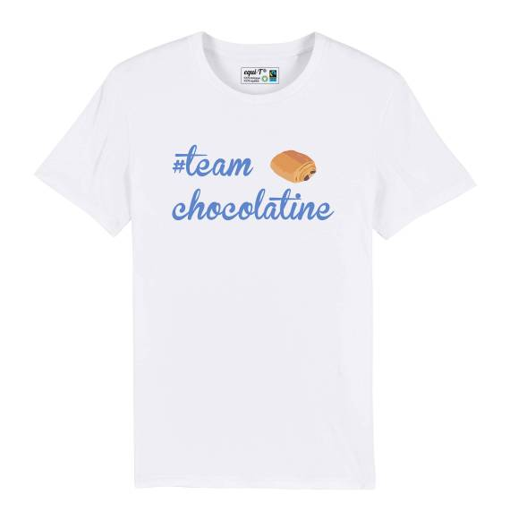 T-shirt homme team chocolatine