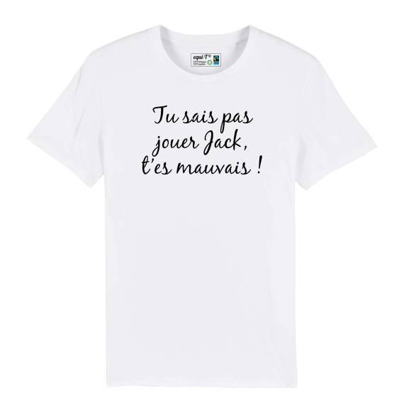 T-shirt homme OSS 117 Jack t'es mauvais !