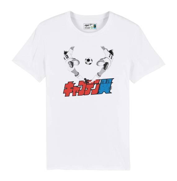 T-shirt homme Captain Tsubasa Twin Shot