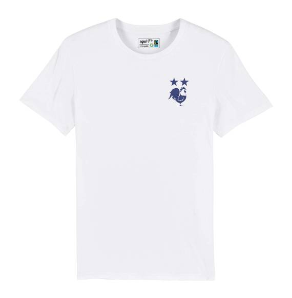 T-shirt homme Coq 2 étoiles