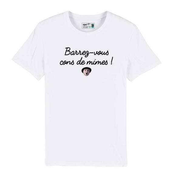 T-shirt homme cons de mimes