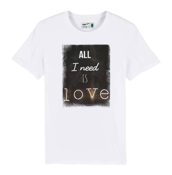 T-shirt homme all i need is love