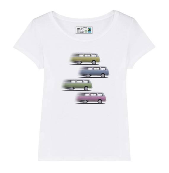 T-shirt femme Vanlife Roadtrip - 4 Vantastics