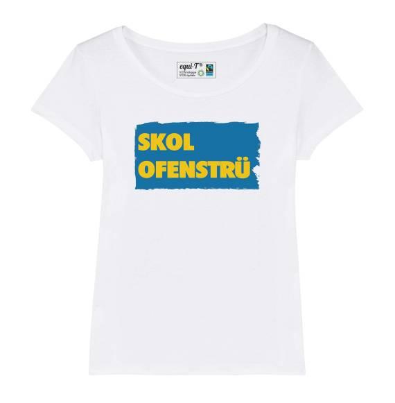 T-shirt femme Skol Ofenstru