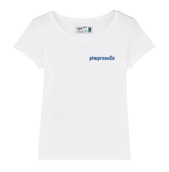T-shirt femme pimprenelle
