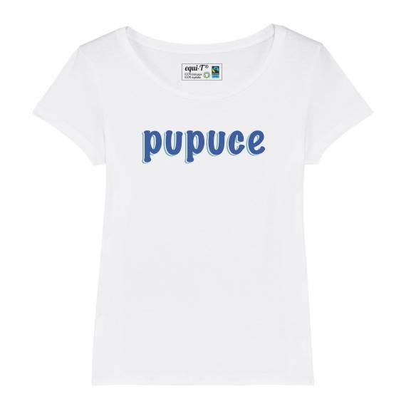 T-shirt femme pupuce