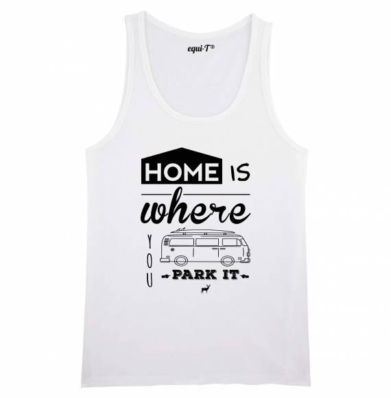 Débardeur homme home is where you park it