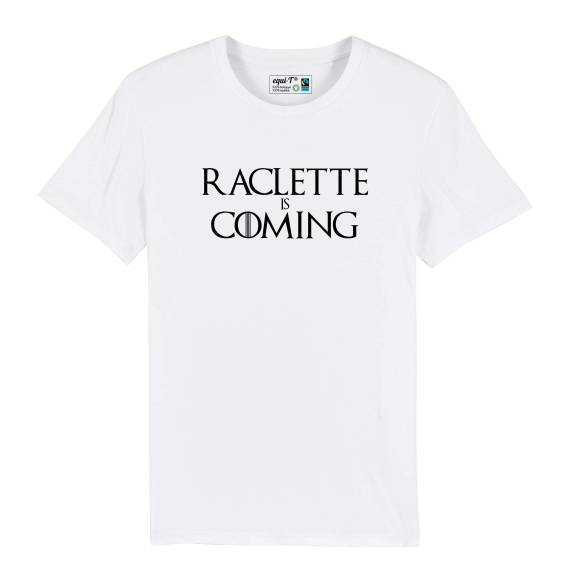 T-shirt homme Raclette is coming