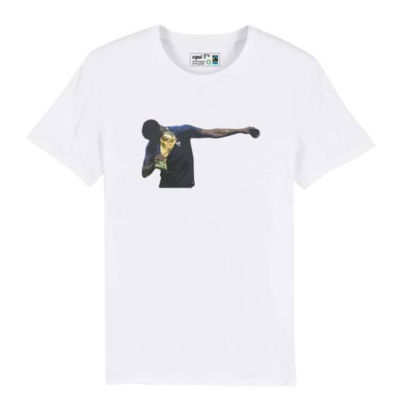 T-shirt homme Pogba avec la coupe