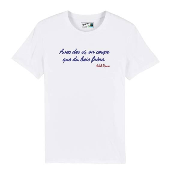 T-shirt homme avec des si
