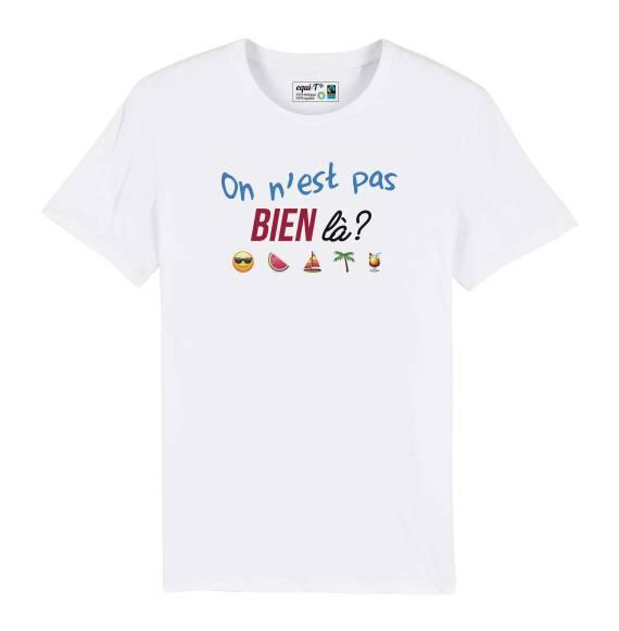 T-shirt homme pas bien là