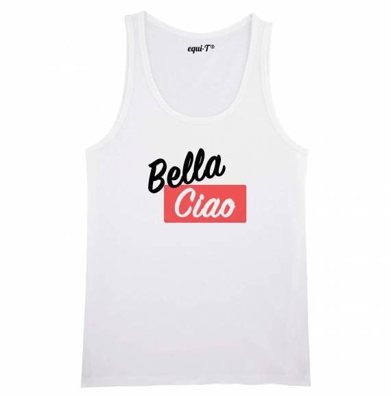 Débardeur homme Bella ciao (La casa de Papel)