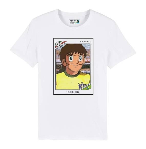 T-shirt homme captain tsubasa roberto panini