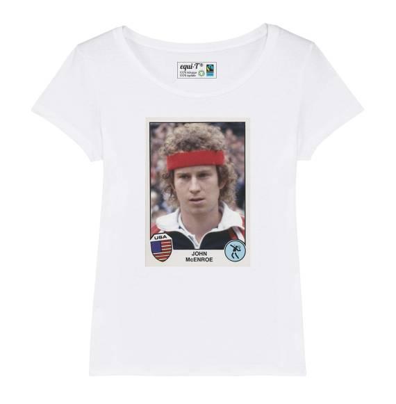 T-shirt femme McEnroe panini