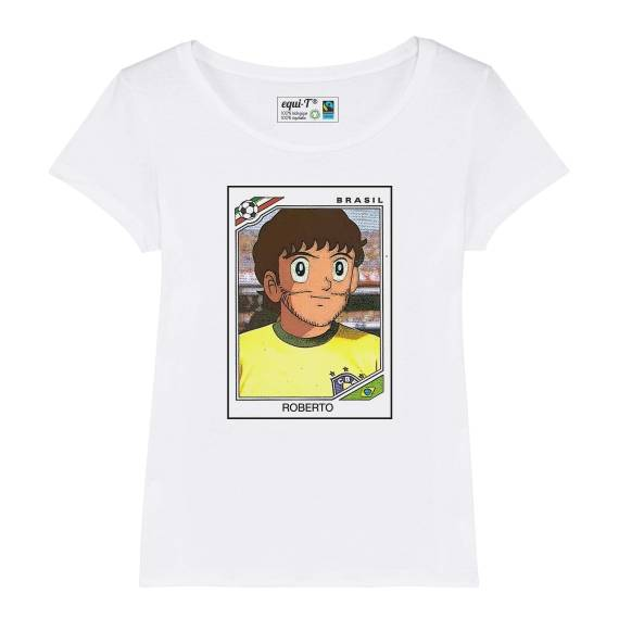 T-shirt femme olive et tom Roberto panini