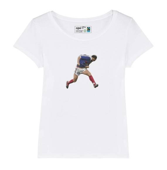 T-shirt original femme Zidane 98