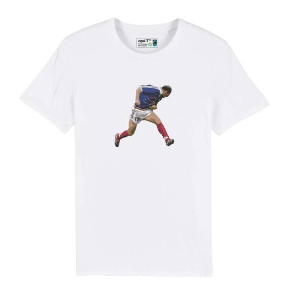 T-shirt homme original zidane 98