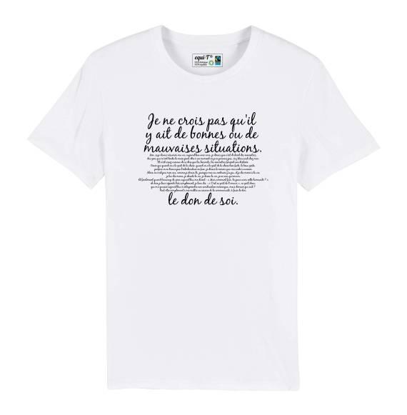 T-shirt homme Mission Cléopatre Otis - Je ne crois pas qu'il y ait de bonnes..