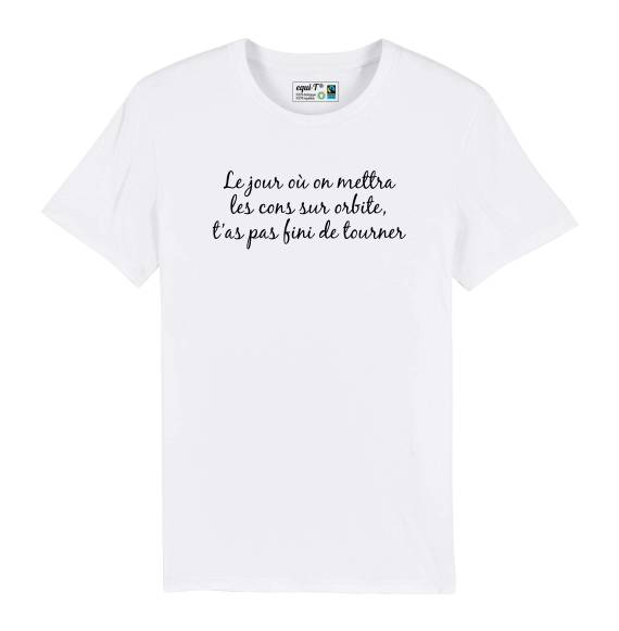 T-shirt Michel Audiard - Cons sur orbite