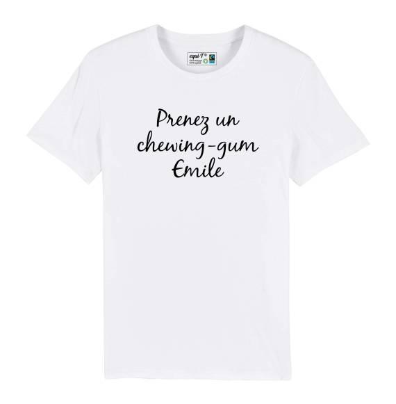 T-shirt homme La cité de la peur - Prenez un chewing-gum Emile