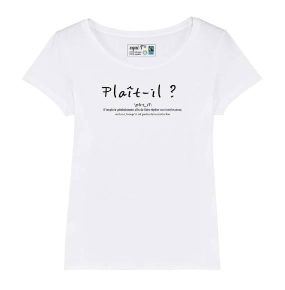 T-shirt femme plait-il ?
