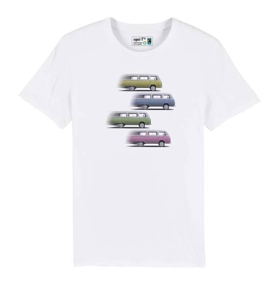 T-shirt homme Vanlife Roadtrip - 4 Vantastics