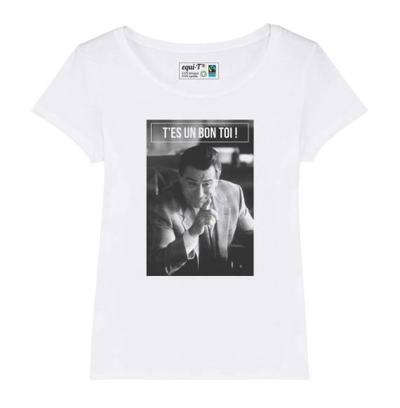 "T-shirt femme De Niro ""T'es un bon toi"""