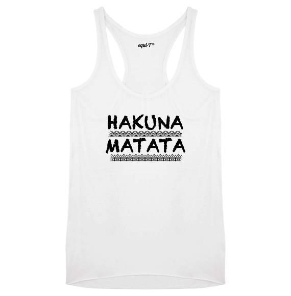 Débardeur femme Hakuna Matata