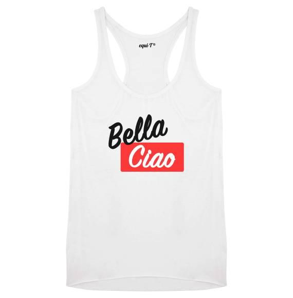 Débardeur femme Bella ciao (La casa de Papel)