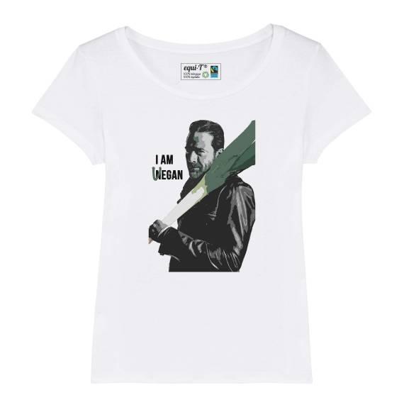 T-shirt femme original The Walking Dead - I am Vegan