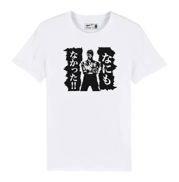 T-shirt homme one piece roronoa zoro - nani mo nakatta