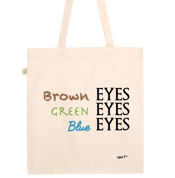 Tote bag Brown Eyes Green Eyes Blue Eyes - Game of Thrones