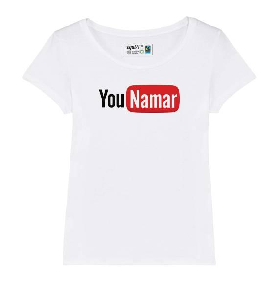 T-shirt femme younamar - youtube