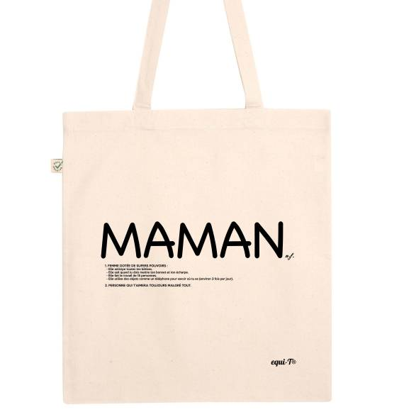 Tote bag Maman définition - fête des mères