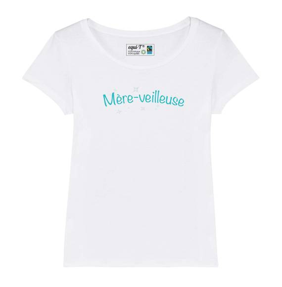 T-shirt femme mère-veilleuse / fête des mères