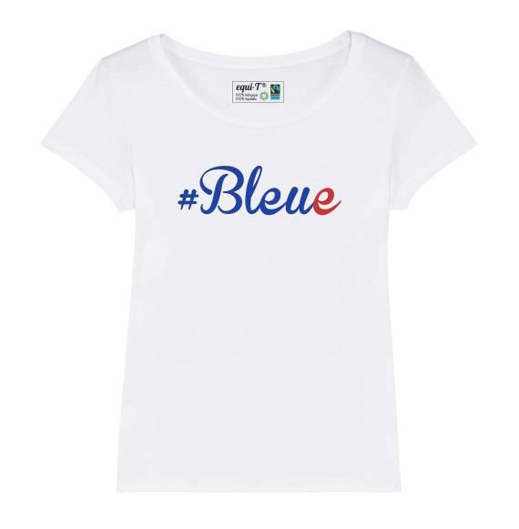 T-shirt femme coupe du monde france 2019 #bleue
