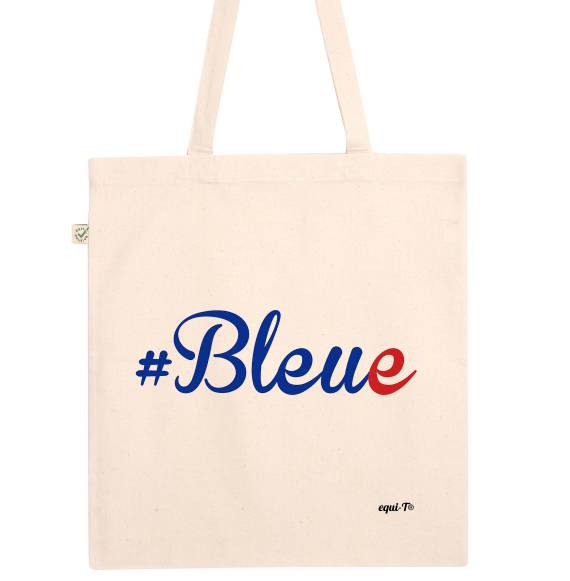 Tote bag Coupe du monde 2019 #bleue