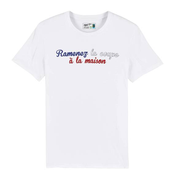 T-shirt homme Ramenez la coupe à la maison - France 2019 #vegedream