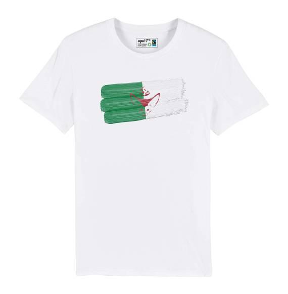 T-shirt homme Algérie Fennec - can 2019
