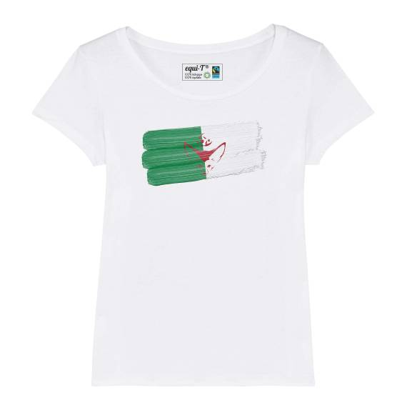 T-shirt femme Algérie Fennec Can 2019