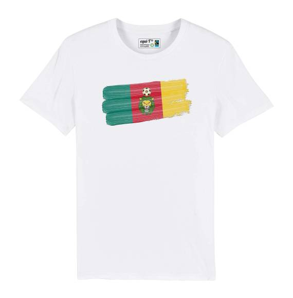 T-shirt homme Cameroun lions indomptables - can 2019