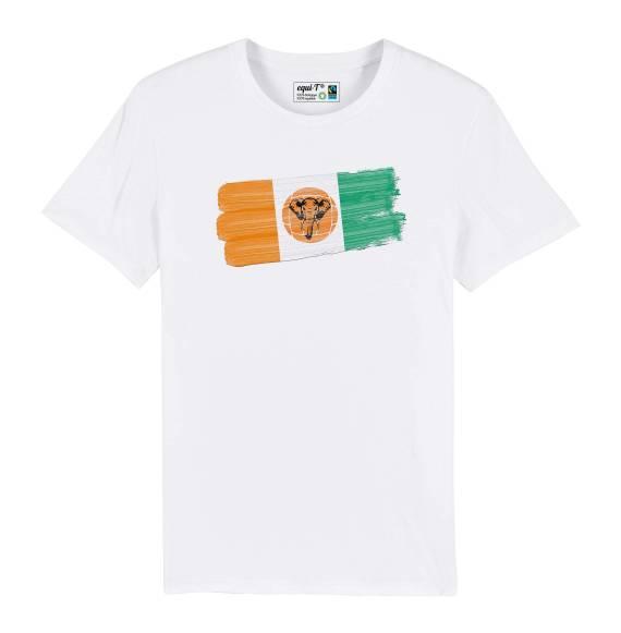 T-shirt homme cote d'ivoire elephants - can 2019